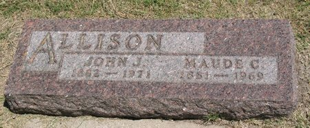 ALLISON, MAUDE C. - Beadle County, South Dakota   MAUDE C. ALLISON - South Dakota Gravestone Photos