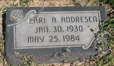 ANDRESEN, EARL AUGUST - Beadle County, South Dakota   EARL AUGUST ANDRESEN - South Dakota Gravestone Photos