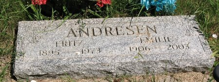 ANDRESEN, EMELIZ - Beadle County, South Dakota | EMELIZ ANDRESEN - South Dakota Gravestone Photos