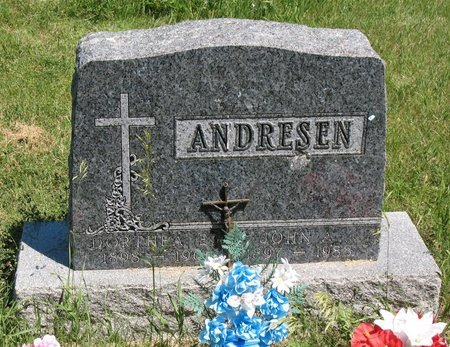 ANDRESEN, JOHN AUGUST - Beadle County, South Dakota | JOHN AUGUST ANDRESEN - South Dakota Gravestone Photos