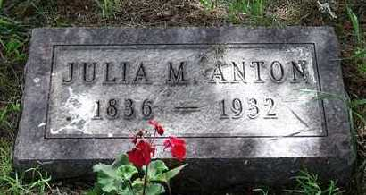 POLZIN ANTON, JULIANNE - Beadle County, South Dakota   JULIANNE POLZIN ANTON - South Dakota Gravestone Photos