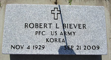 BIEVER, ROBERT L - Beadle County, South Dakota | ROBERT L BIEVER - South Dakota Gravestone Photos