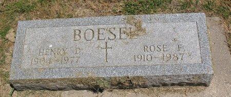 BOESEL, ROSE F. - Beadle County, South Dakota | ROSE F. BOESEL - South Dakota Gravestone Photos
