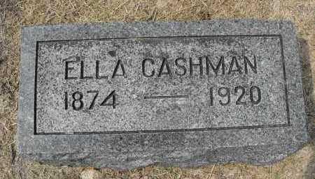 DALEY CASHMAN, ELLA - Beadle County, South Dakota | ELLA DALEY CASHMAN - South Dakota Gravestone Photos