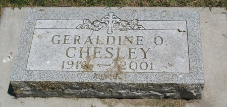CHESLEY, GERALDINE O. - Beadle County, South Dakota | GERALDINE O. CHESLEY - South Dakota Gravestone Photos