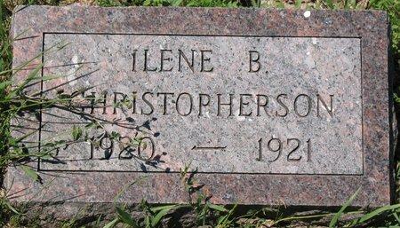 CHRISTOPHERSON, ILENE B. - Beadle County, South Dakota   ILENE B. CHRISTOPHERSON - South Dakota Gravestone Photos