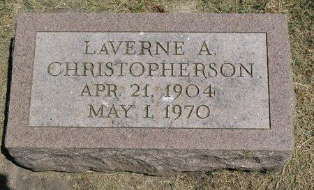 CHRISTOPHERSON, LAVERNE A. - Beadle County, South Dakota | LAVERNE A. CHRISTOPHERSON - South Dakota Gravestone Photos