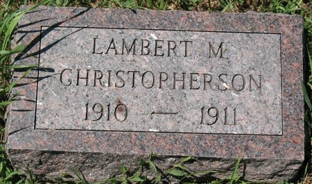 CHRISTOPHERSON, LAMBERT M. - Beadle County, South Dakota | LAMBERT M. CHRISTOPHERSON - South Dakota Gravestone Photos