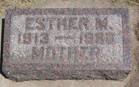 DUNNICK, ESTHER MARY - Beadle County, South Dakota | ESTHER MARY DUNNICK - South Dakota Gravestone Photos