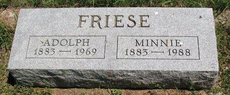 FRIESE, ADOLPH - Beadle County, South Dakota   ADOLPH FRIESE - South Dakota Gravestone Photos