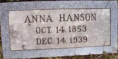 KJERSTONDOTTER HANSON, ANNA - Beadle County, South Dakota   ANNA KJERSTONDOTTER HANSON - South Dakota Gravestone Photos