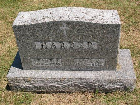CHRISTOPHERSON HARDER, LOIS CHARLOTTE - Beadle County, South Dakota | LOIS CHARLOTTE CHRISTOPHERSON HARDER - South Dakota Gravestone Photos
