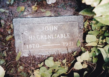 HECKENLAIBLE, JOHN - Beadle County, South Dakota | JOHN HECKENLAIBLE - South Dakota Gravestone Photos