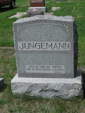 JUNGEMANN, . - Beadle County, South Dakota | . JUNGEMANN - South Dakota Gravestone Photos