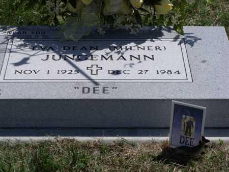 JUNGEMANN, EVA - Beadle County, South Dakota | EVA JUNGEMANN - South Dakota Gravestone Photos