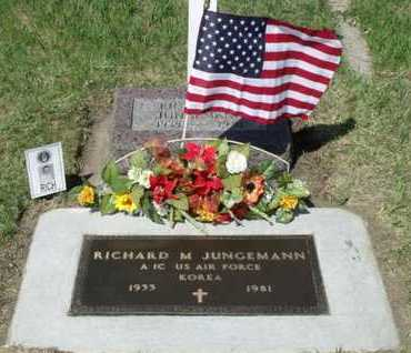 JUNGEMANN, RICHARD M. - Beadle County, South Dakota | RICHARD M. JUNGEMANN - South Dakota Gravestone Photos