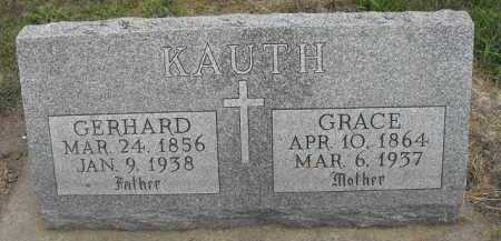 KAUTH, GRACE - Beadle County, South Dakota | GRACE KAUTH - South Dakota Gravestone Photos