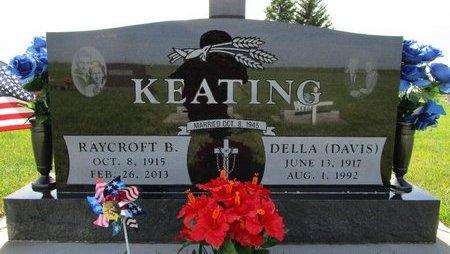 DAVIS KEATING, DELLA - Beadle County, South Dakota | DELLA DAVIS KEATING - South Dakota Gravestone Photos