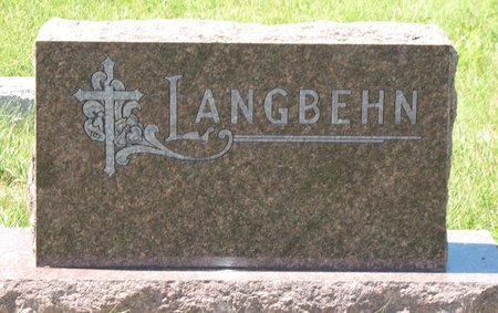 LANGBEHN, *FAMILY - Beadle County, South Dakota   *FAMILY LANGBEHN - South Dakota Gravestone Photos