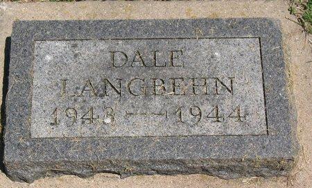 LANGBEHN, DALE LEROY - Beadle County, South Dakota   DALE LEROY LANGBEHN - South Dakota Gravestone Photos