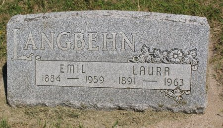 LANGBEHN, LAURA DORELTA - Beadle County, South Dakota | LAURA DORELTA LANGBEHN - South Dakota Gravestone Photos
