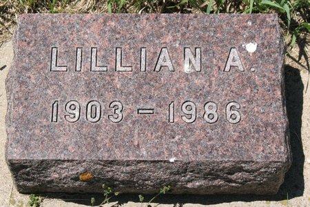 LANGBEHN, LILLIAN A. - Beadle County, South Dakota | LILLIAN A. LANGBEHN - South Dakota Gravestone Photos