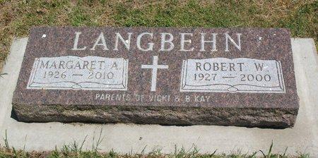 LANGBEHN, ROBERT WAYNE - Beadle County, South Dakota | ROBERT WAYNE LANGBEHN - South Dakota Gravestone Photos