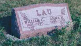 LAU, WILLIAM - Beadle County, South Dakota | WILLIAM LAU - South Dakota Gravestone Photos