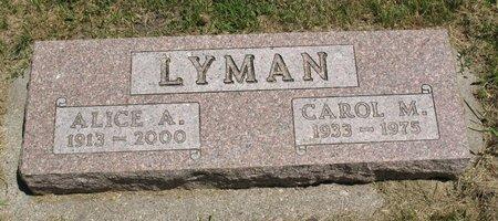 LANGBEHN LYMAN, ALICE AGUSTUS - Beadle County, South Dakota | ALICE AGUSTUS LANGBEHN LYMAN - South Dakota Gravestone Photos