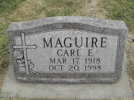 MAGUIRE, CARL EDWARD - Beadle County, South Dakota | CARL EDWARD MAGUIRE - South Dakota Gravestone Photos