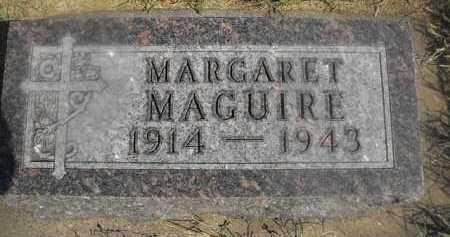 MAGUIRE, MARGARET - Beadle County, South Dakota   MARGARET MAGUIRE - South Dakota Gravestone Photos