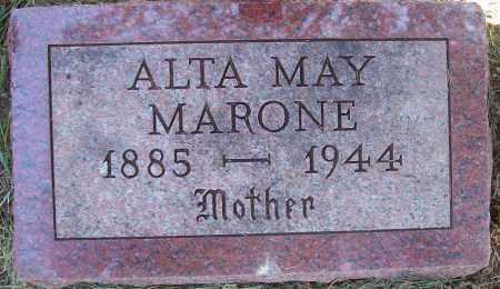 BUTLER MARONE, ALTA MAY - Beadle County, South Dakota   ALTA MAY BUTLER MARONE - South Dakota Gravestone Photos