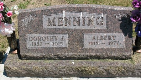 MENNING, DOROTHY JEAN - Beadle County, South Dakota | DOROTHY JEAN MENNING - South Dakota Gravestone Photos