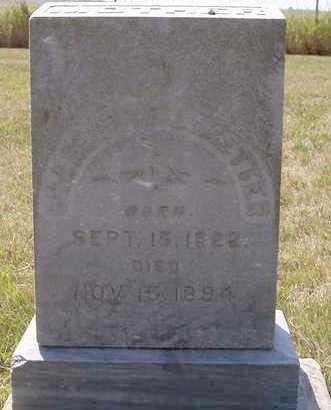 METTER, CHARLOTTE L - Beadle County, South Dakota | CHARLOTTE L METTER - South Dakota Gravestone Photos