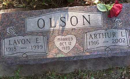 OLSON, ARTHUR LESLIE - Beadle County, South Dakota   ARTHUR LESLIE OLSON - South Dakota Gravestone Photos