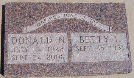 OLSON, DONALD N. - Beadle County, South Dakota | DONALD N. OLSON - South Dakota Gravestone Photos