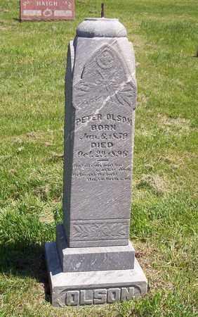 OLSON, PETER - Beadle County, South Dakota | PETER OLSON - South Dakota Gravestone Photos