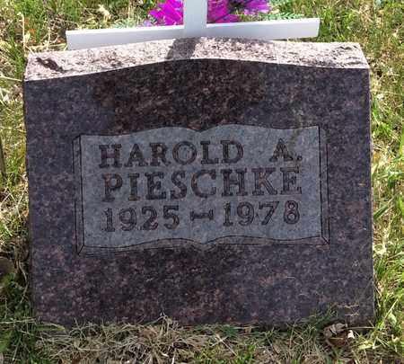 PIESCHKE, HAROLD ADOLPH - Beadle County, South Dakota   HAROLD ADOLPH PIESCHKE - South Dakota Gravestone Photos