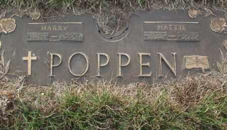 STUBBE POPPEN, HATTIE - Beadle County, South Dakota | HATTIE STUBBE POPPEN - South Dakota Gravestone Photos