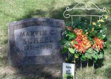 SCHEEL, MARVIN C. - Beadle County, South Dakota   MARVIN C. SCHEEL - South Dakota Gravestone Photos