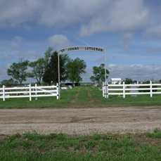 *ST. JOHN'S LUTHERAN CEMETERY, ENTRANCE - Beadle County, South Dakota | ENTRANCE *ST. JOHN'S LUTHERAN CEMETERY - South Dakota Gravestone Photos