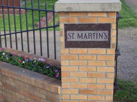 *ST. MARTIN'S CEMETERY, ENTRANCE - Beadle County, South Dakota   ENTRANCE *ST. MARTIN'S CEMETERY - South Dakota Gravestone Photos