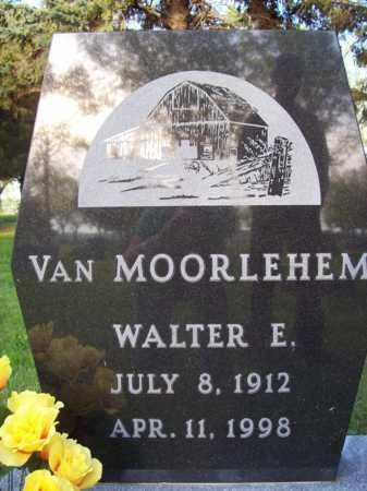 VAN MOORLEHEM, WALTER E. - Beadle County, South Dakota   WALTER E. VAN MOORLEHEM - South Dakota Gravestone Photos