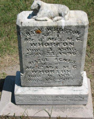 WHORTON, BABY - Beadle County, South Dakota | BABY WHORTON - South Dakota Gravestone Photos