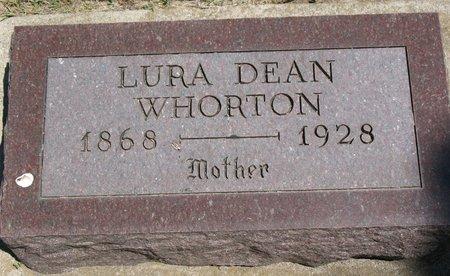 WHORTON, LURA DEAN - Beadle County, South Dakota   LURA DEAN WHORTON - South Dakota Gravestone Photos