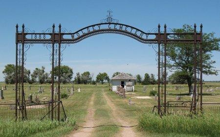 WOLSEY CEMETERY, *ENTRANCE - Beadle County, South Dakota | *ENTRANCE WOLSEY CEMETERY - South Dakota Gravestone Photos