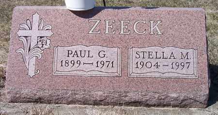 ZEECK, PAUL G. - Beadle County, South Dakota | PAUL G. ZEECK - South Dakota Gravestone Photos