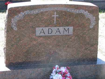 ADAM, FAMILY STONE - Bon Homme County, South Dakota | FAMILY STONE ADAM - South Dakota Gravestone Photos