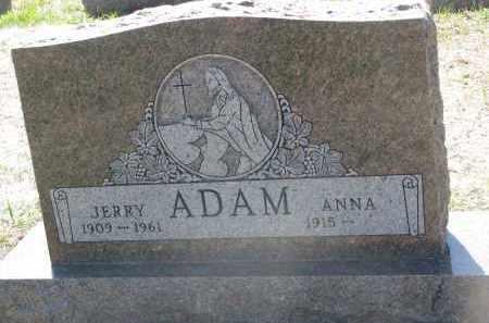 ADAM, ANNA - Bon Homme County, South Dakota   ANNA ADAM - South Dakota Gravestone Photos