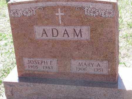 ADAM, JOSEPH F. - Bon Homme County, South Dakota | JOSEPH F. ADAM - South Dakota Gravestone Photos